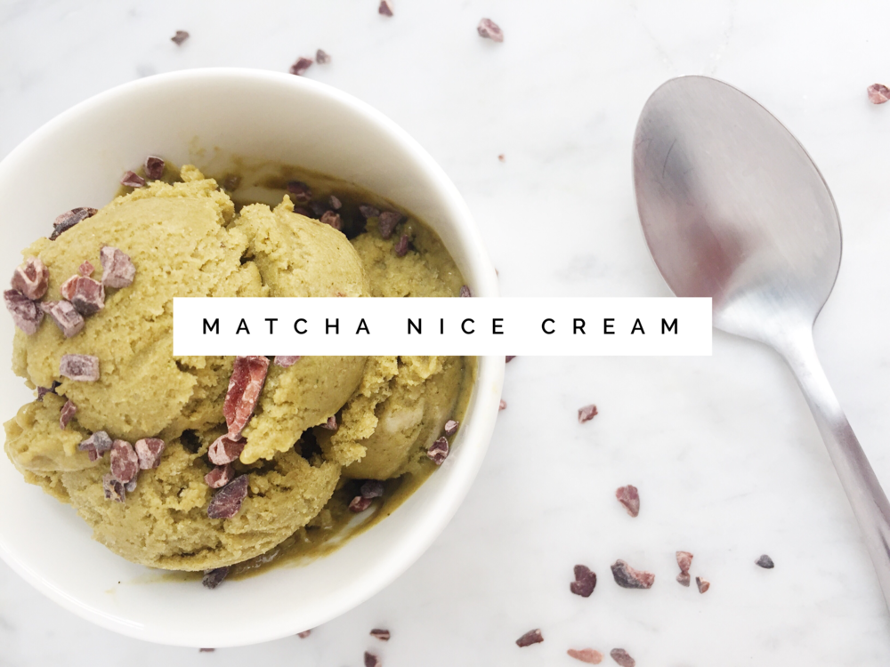 Healthy Vegan Ice Cream