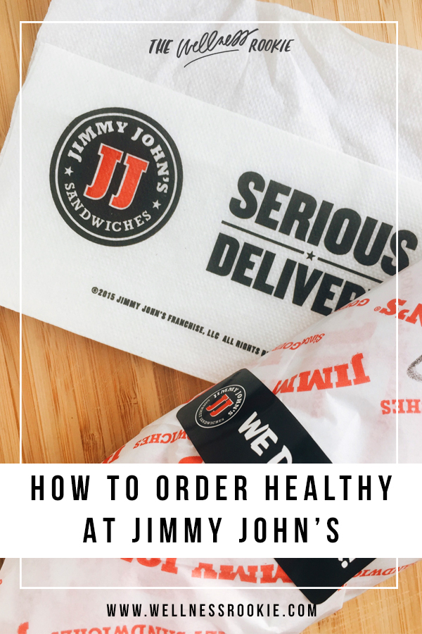 how to order healthy at jimmy john's