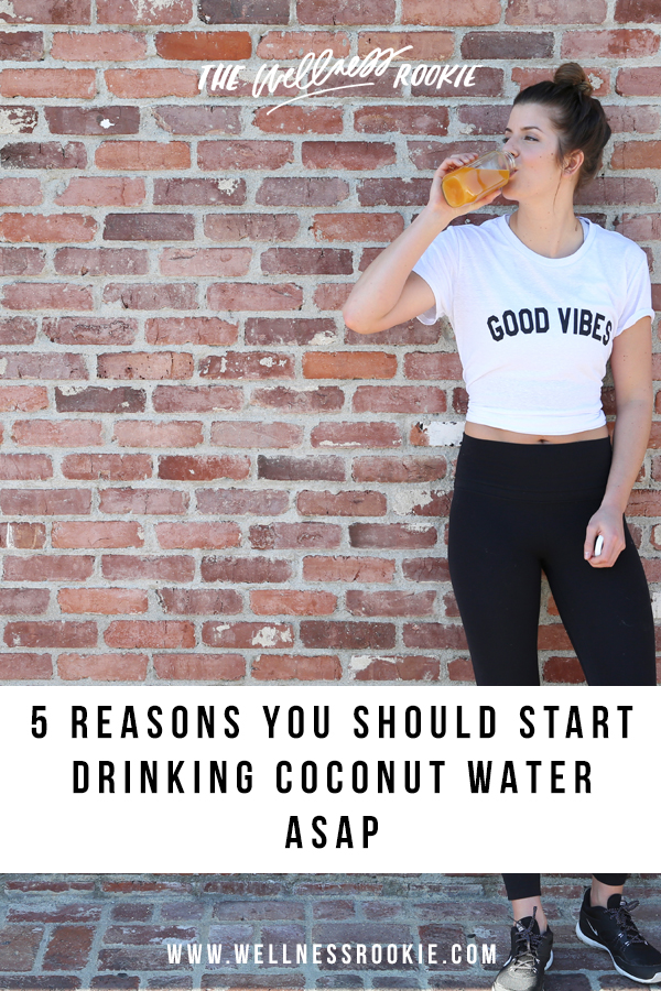 why you should start drinking coconut water daily