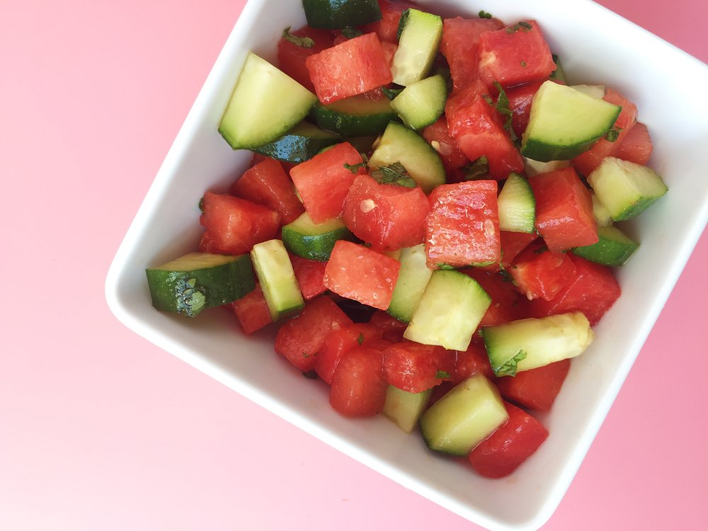 vegan poke salad