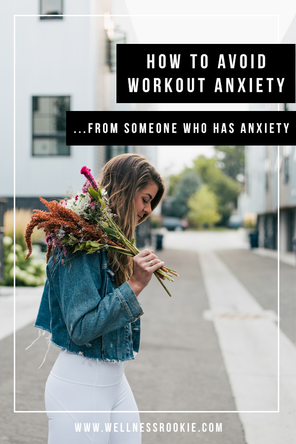 how to deal with workout anxiety and feel less stressed before working out