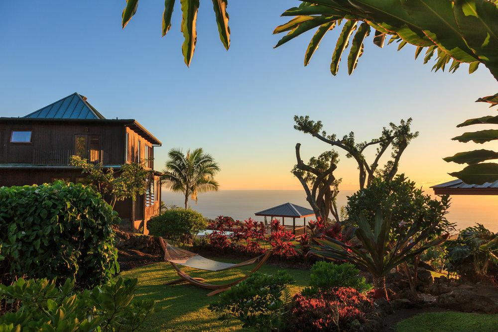 Holualoa Inn near Kona, Hawaii is the perfect romantic getaway