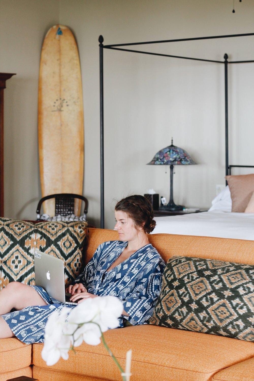 the holualoa Inn at Kona, Hawaii is the perfect romantic getaway