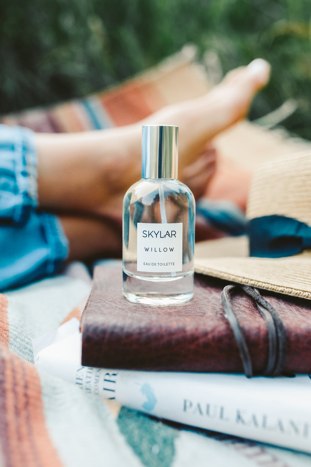 skylar's new scent willow makes you feel like you're out in nature