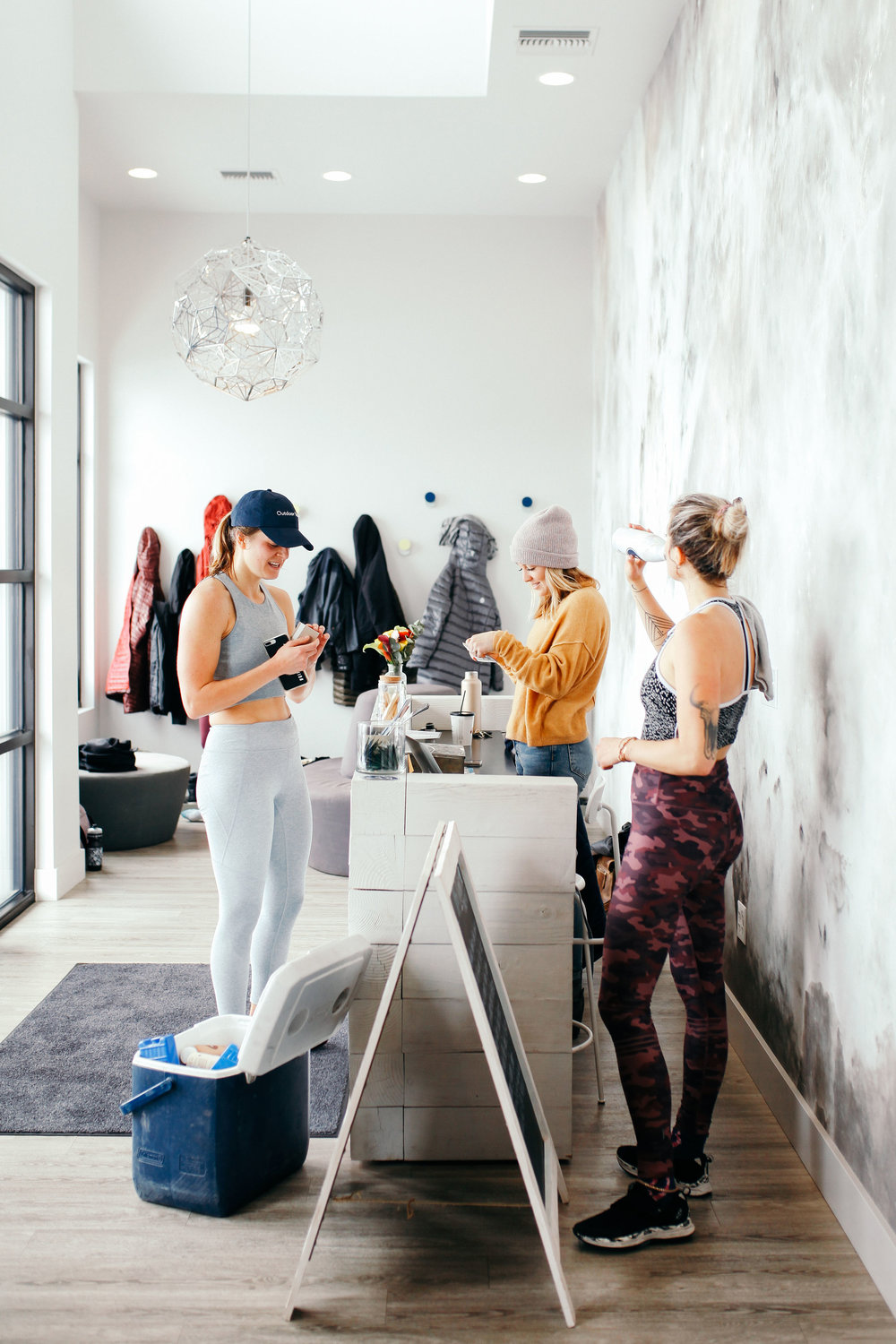 GIRL TALK - a series of sweatworking events dedicated to wellness, connection, and community