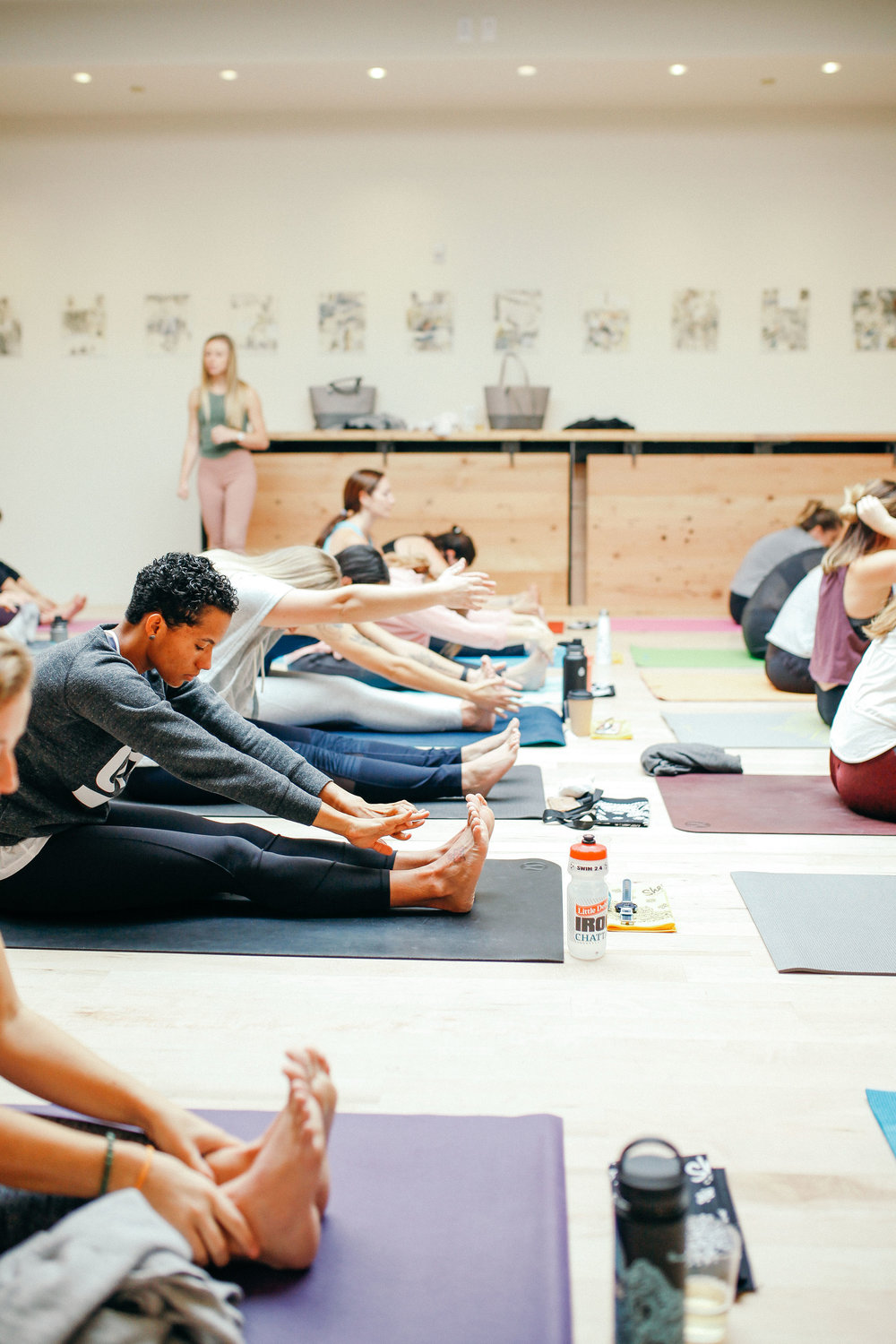 GIRL TALK - a womens sweatworking event dedicated to wellness, connection, and community