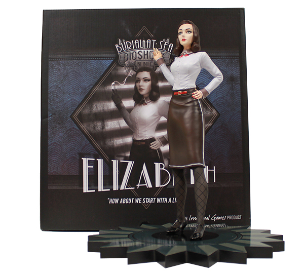 Elizabeth Figure and Packaging   Packaging design and figure coordination design under the direction of Robb Waters and Gavin Goulden for the Irrational Games store.