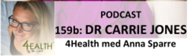 The #1 health podcast in Sweden with Anna Sparre! - In this you'll learn about hormonal imbalances; as well as symptom, testing and treatment. I explain this hugely complicated subject in a way that everyone can understand and give practical tips and tricks of how to improve your hormonal imbalances with food, supplements and other lifestyle factorsClick here to listen.