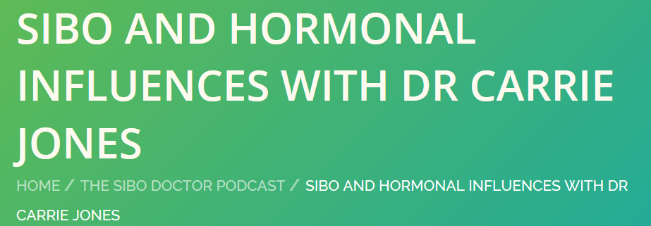 Hormones and Pooping in a Cup for Science (Gut Health) - Dr. Jacobi (from SIBO Doctor) and I talk all about digestion, absorption, inflammation and your hormones. You are what you assimilate and if your gut is a mess then your hormones will be a mess too!Click here to listen.