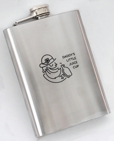 DADDY'S LITTLE JUICE CUP FLASK