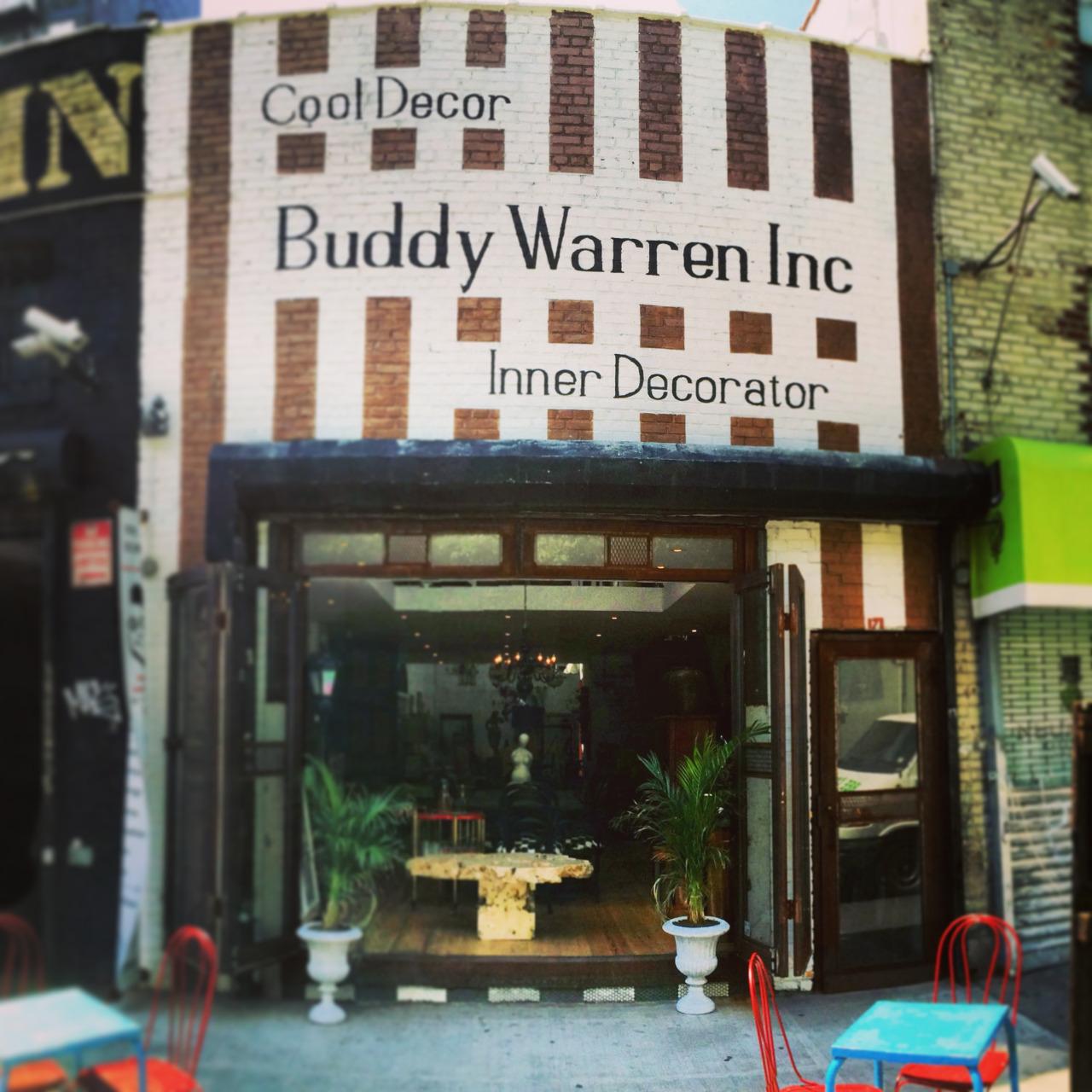 Opening Up Shop Buddy Warren Inc