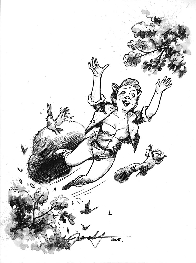 The Unbeatable Squirrel Girl. $100.