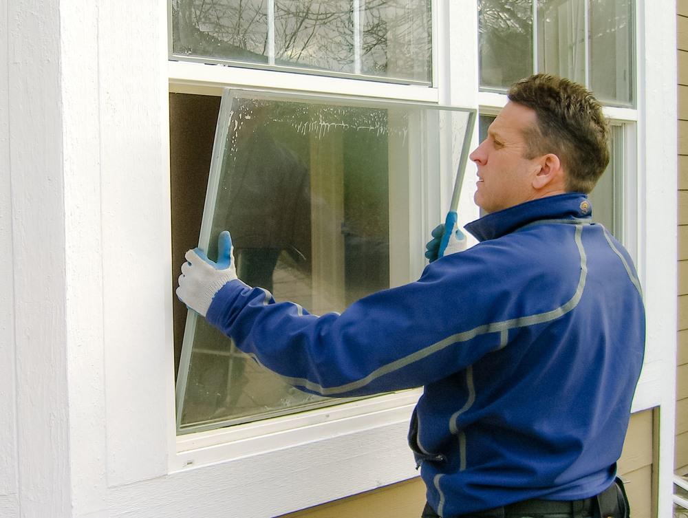 Replacing window glass 86