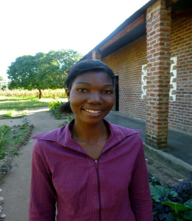 Sarah Malala  (teacher - former sponsored student)