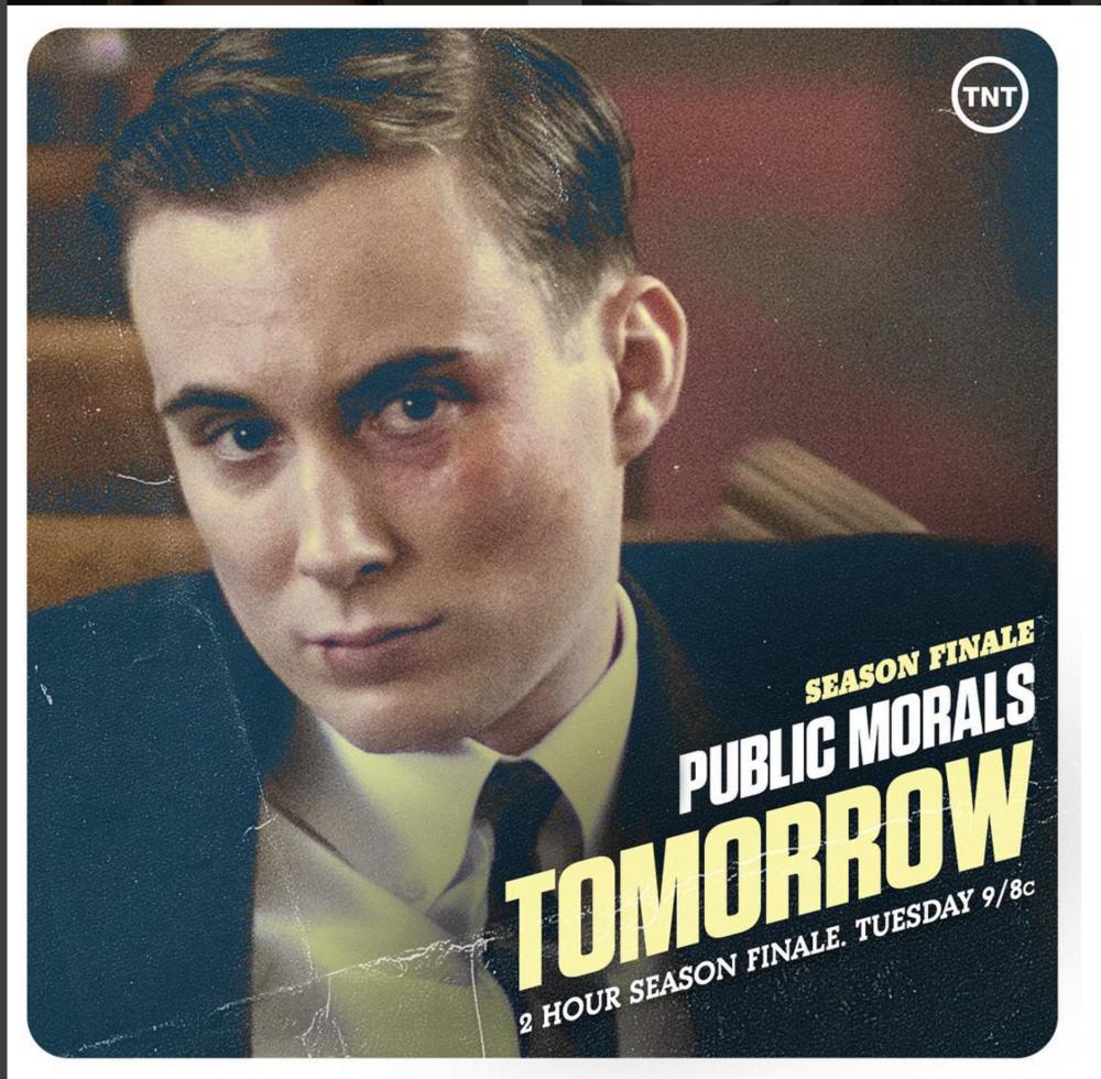Brian as Jimmy Shea in TNT's  Public Morals