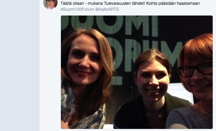 Tulevaisuuden Tähdet,Lahden Sibeliustalo - fall 2015