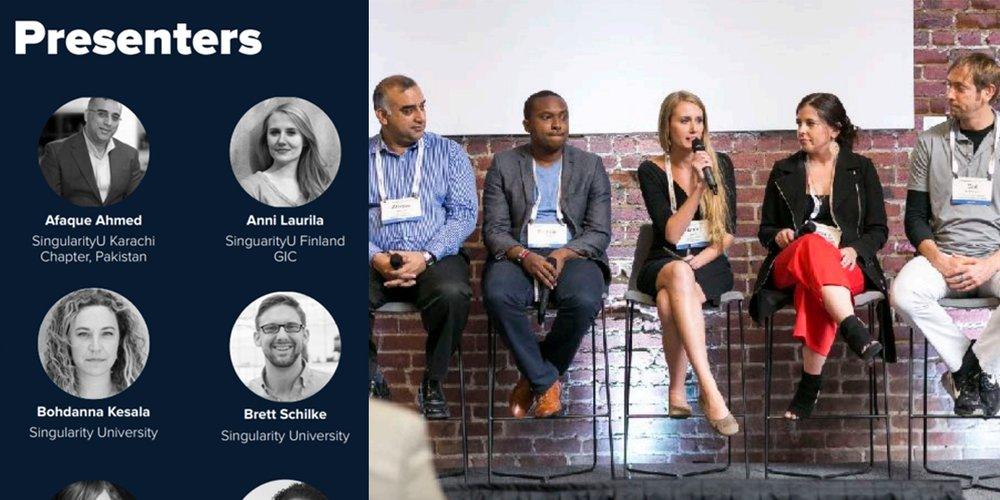 SU San Francisco Leadership Forum - fall 2017Invited as a SingularityU GIC leader presenter/panelist to San Francisco, USA