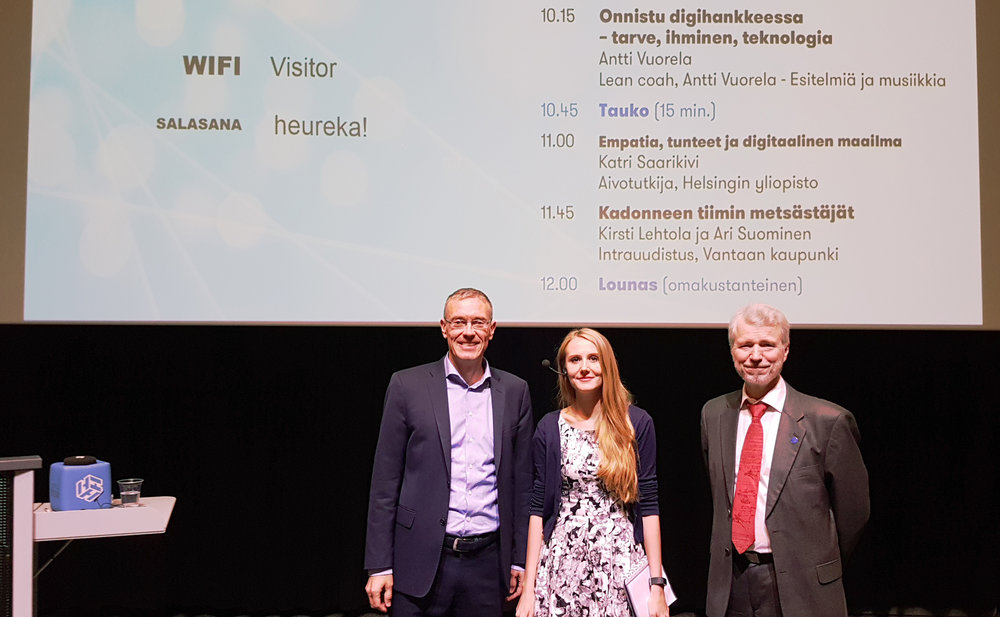 Hosting an event on the future of information technology - fall 2018at Science Center Heureka