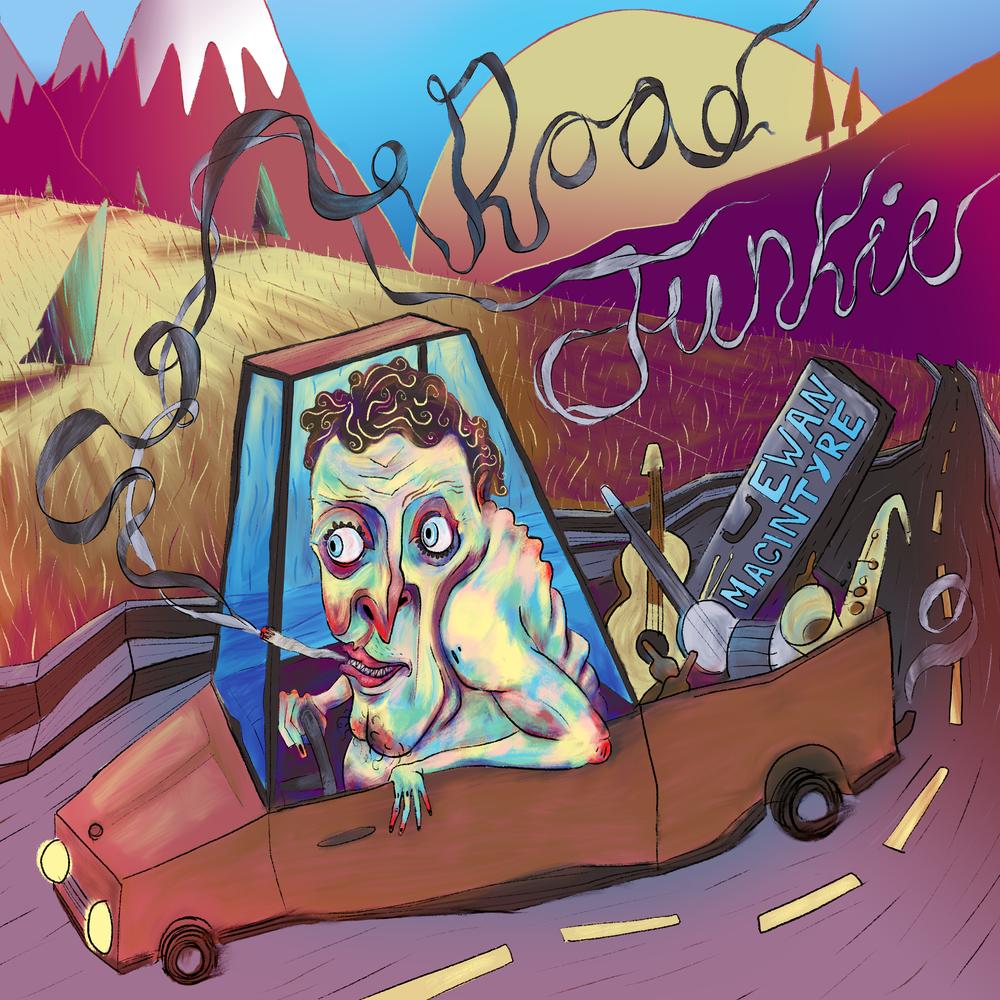 Road-Junkie-Ewan-Macintyre-album-art