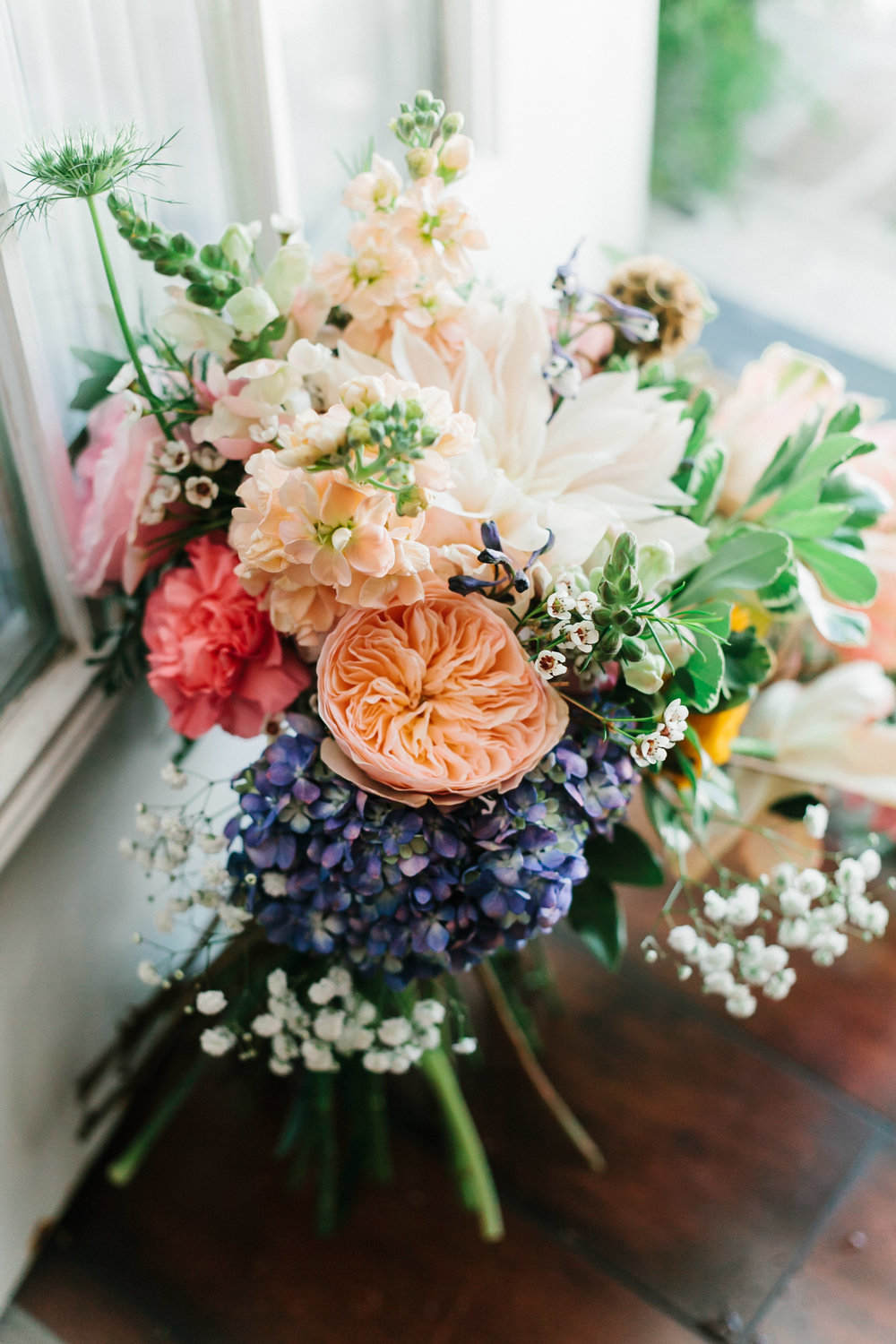 Bouquet by  Designs by Ginny | Photography by  Mark Williams Studio