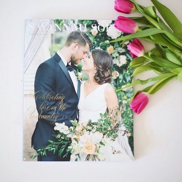 Planning a #savannahwedding? We have a limited number of #SSV1 copies left. Order yours at SAVANNAHSOIREE.COM. Link in profile!