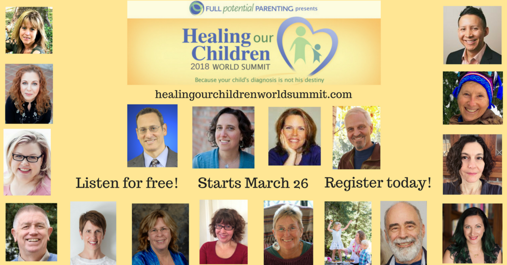 Participated in the Healing Our Children 2018 World Summit - Heather Nardi - Allowing Your and Your Child's Intuitive Gifts to Lead to Healing