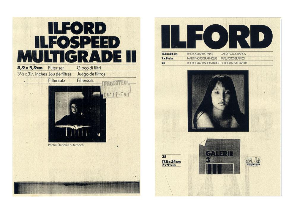 Ilford iii  Ilford iv  c-type print  12x16