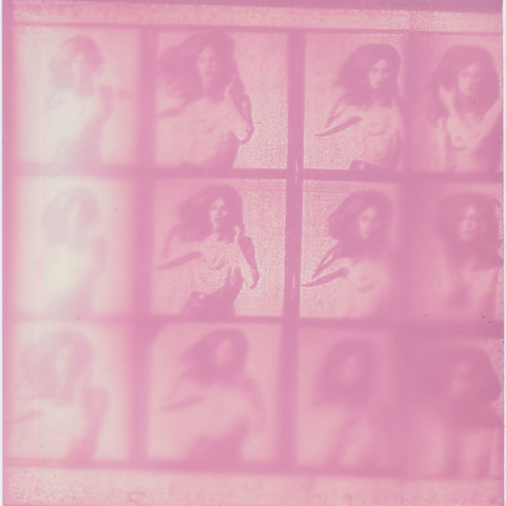 Lot 86 - WERNER BOKELBERG (b.1937)  Uschi Obermaier, 1969  oversized gelatin silver contact sheet, comprising 12 images, printed 2007 signed and numbered '3/10' in ink on recto  48 x 66in. (122 x 168cm.)    A series of bootleg prints from Christie's Photography auction catalogue 15th May 2008.   acetate negatives  unfixed photograms  4.5 in x 5 in  2017