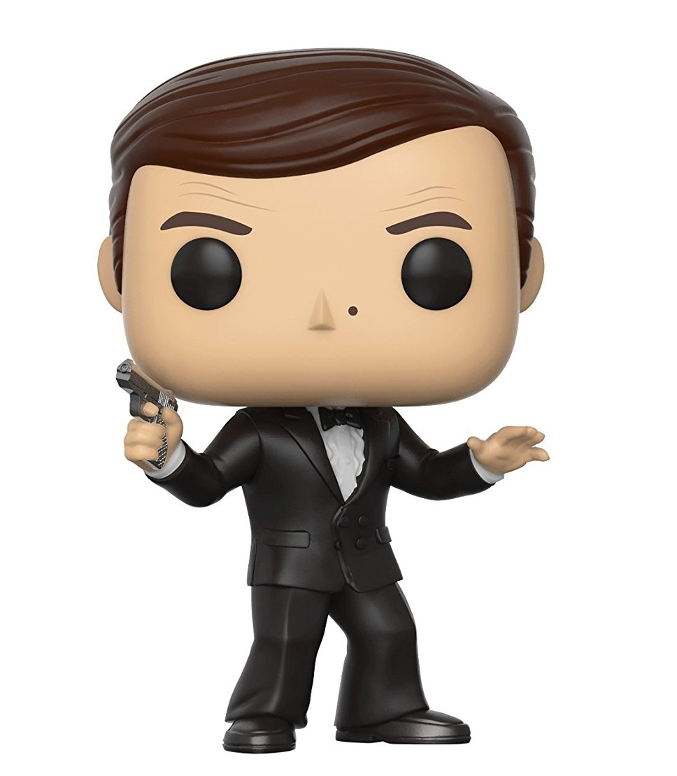 Purchase #1: - If you've been following us on Instagram, you would know that I am a huge James Bond fan. This Funko Pop of Roger Moore as James Bond immediately caught my eye. For around $10 each, there's a Pop figure for everyone.