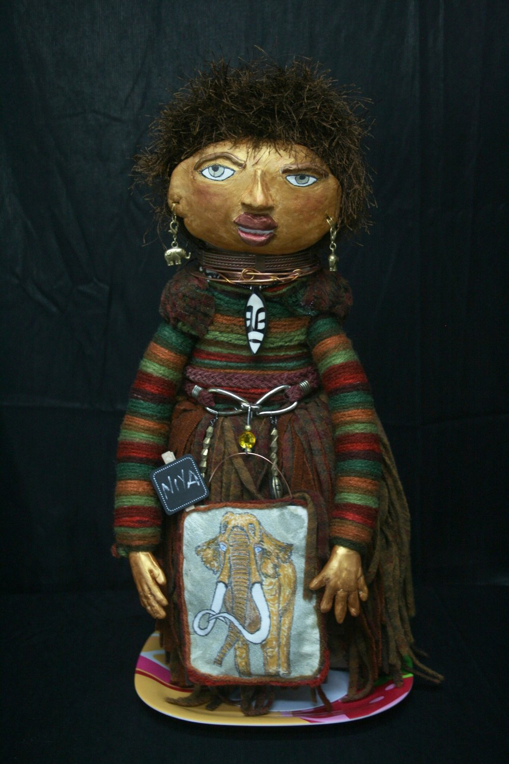 Sacred Doll by Lisa C.