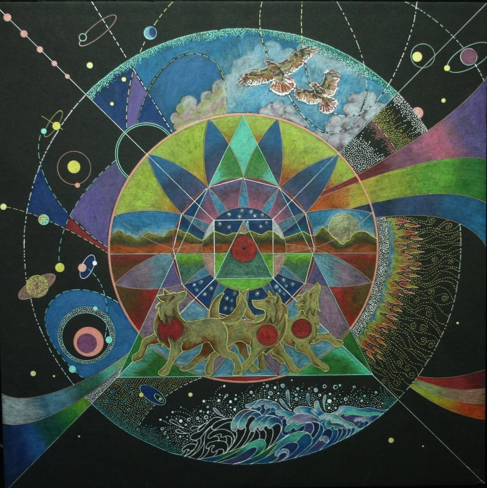 Mandala by Linda B.
