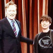 Steve gillespie Conan and me.jpg