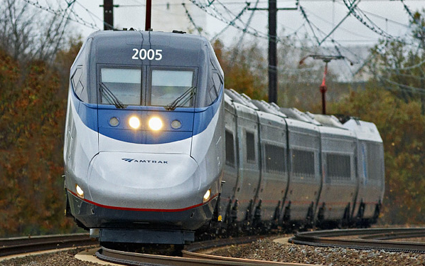 Acela high-speed rail.