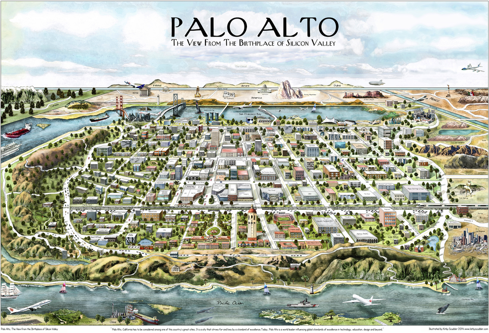 Palo Alto, now and forevermore.