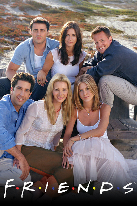 Promotional image for Friends (NBC)