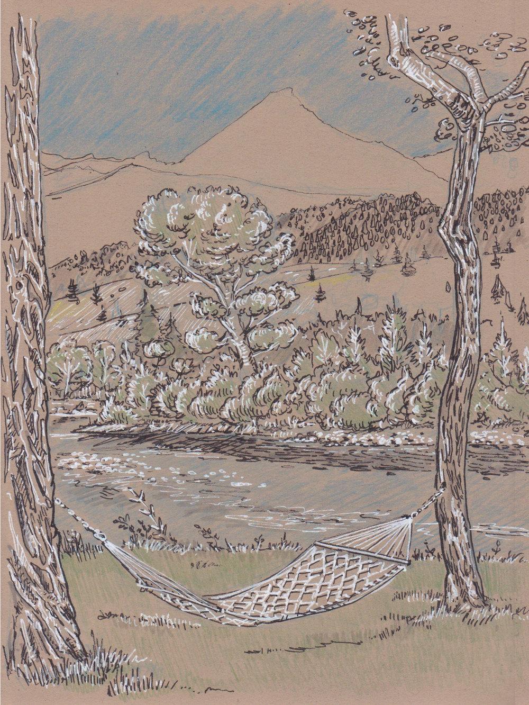 Livingston, Montana - yellowstone river