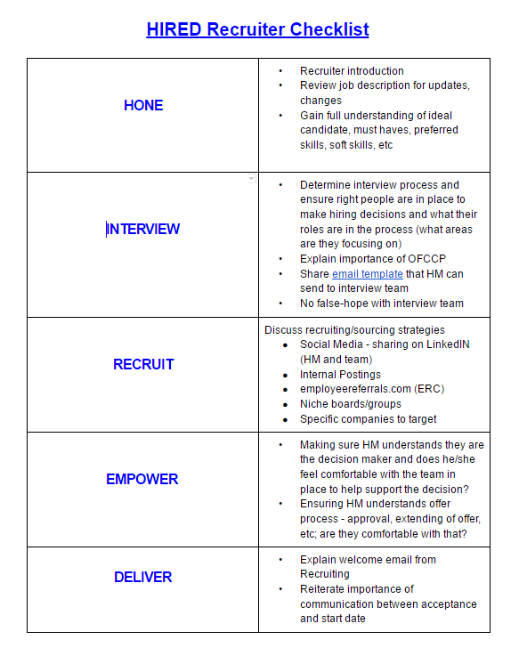 HIRED Recruiter Checklist.PNG