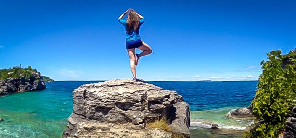 Yoga Camping Trip