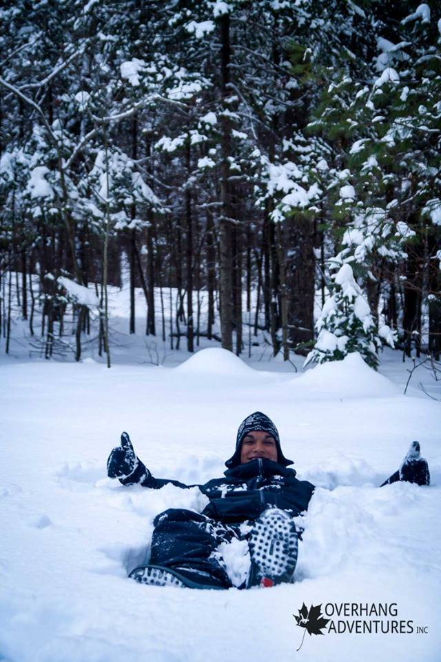 """One of the things that make winter trips so magical is that you can relax pretty much anywhere…and there are no mosquitoes.""  At Killarney Provincial Park, Ontario"