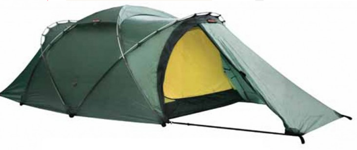 A super-intense 4-season tent