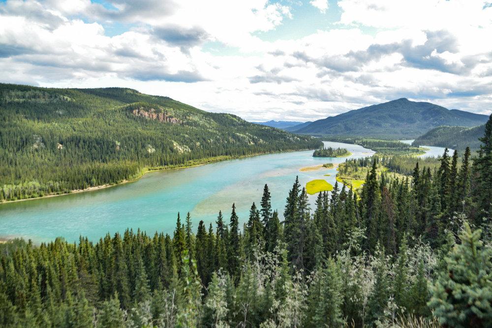 Yukon River - Yukon Territory
