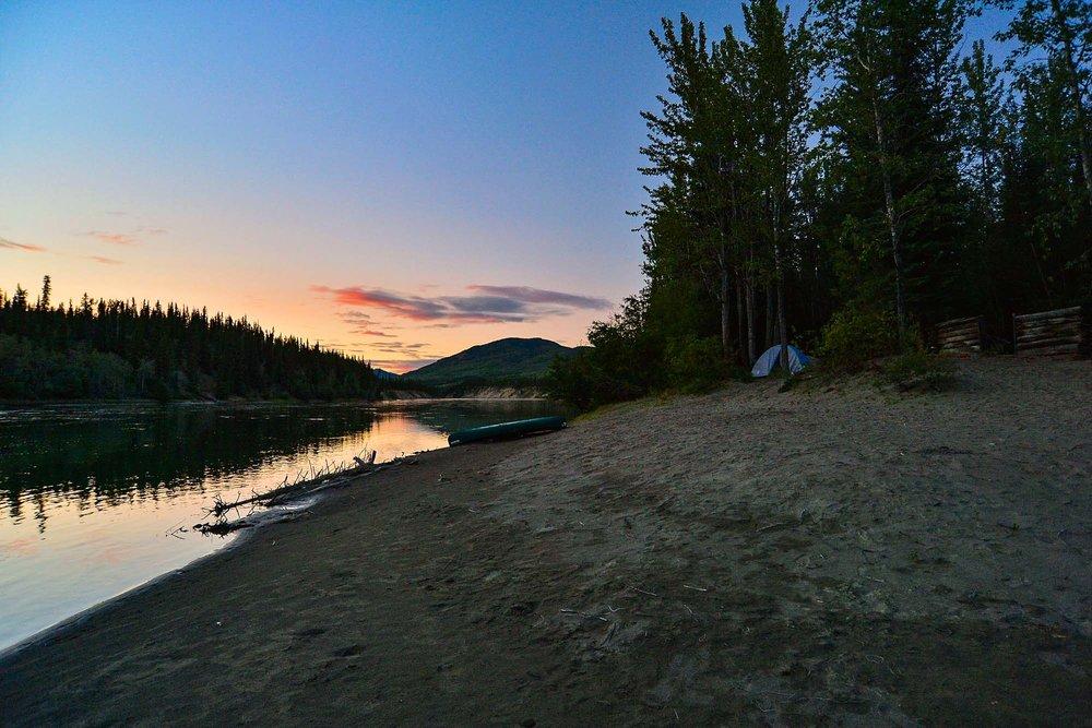 Teslin River - Yukon Territory