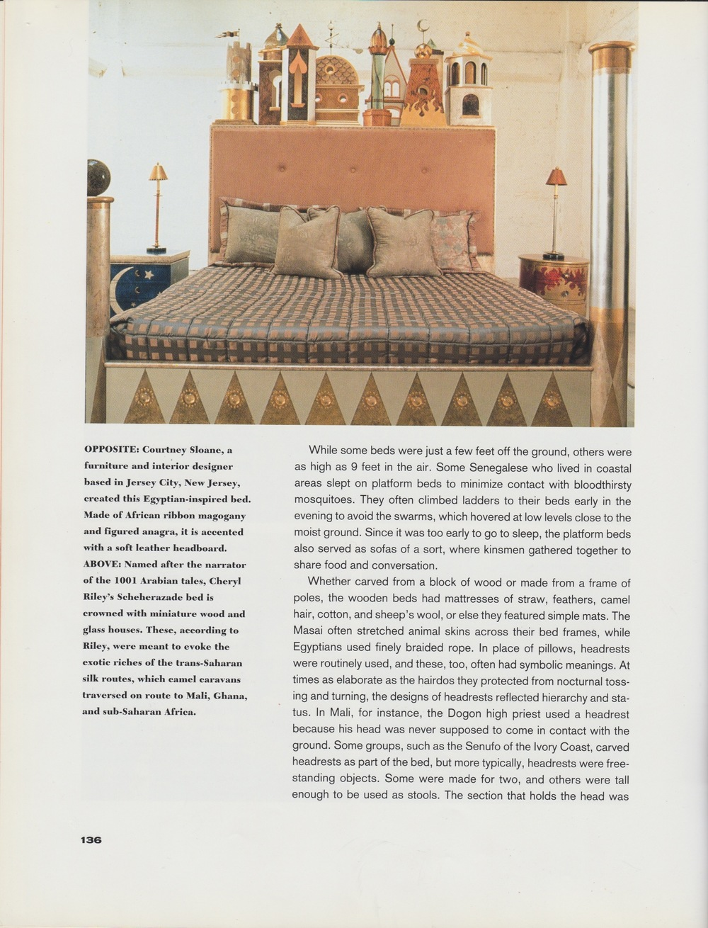 THE SPIRIT OF AFRICAN DESIGN-Scheherazade bed, Night and Day side table.jpg