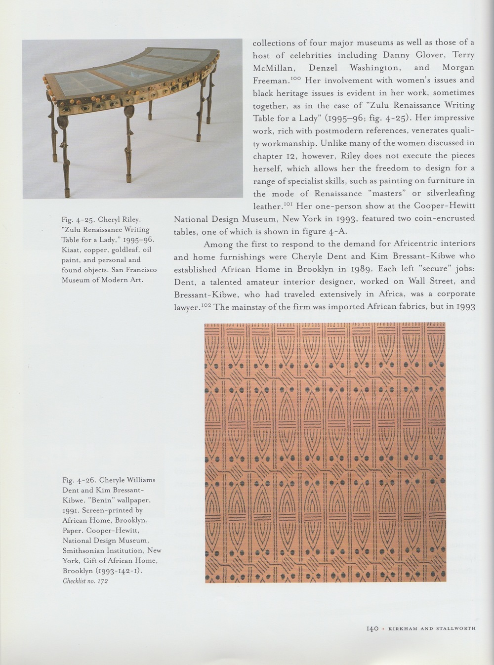 WOMEN DESIGNERS in the USA-pg140 Zulu Renaissance Writing Table for a Lady.jpg