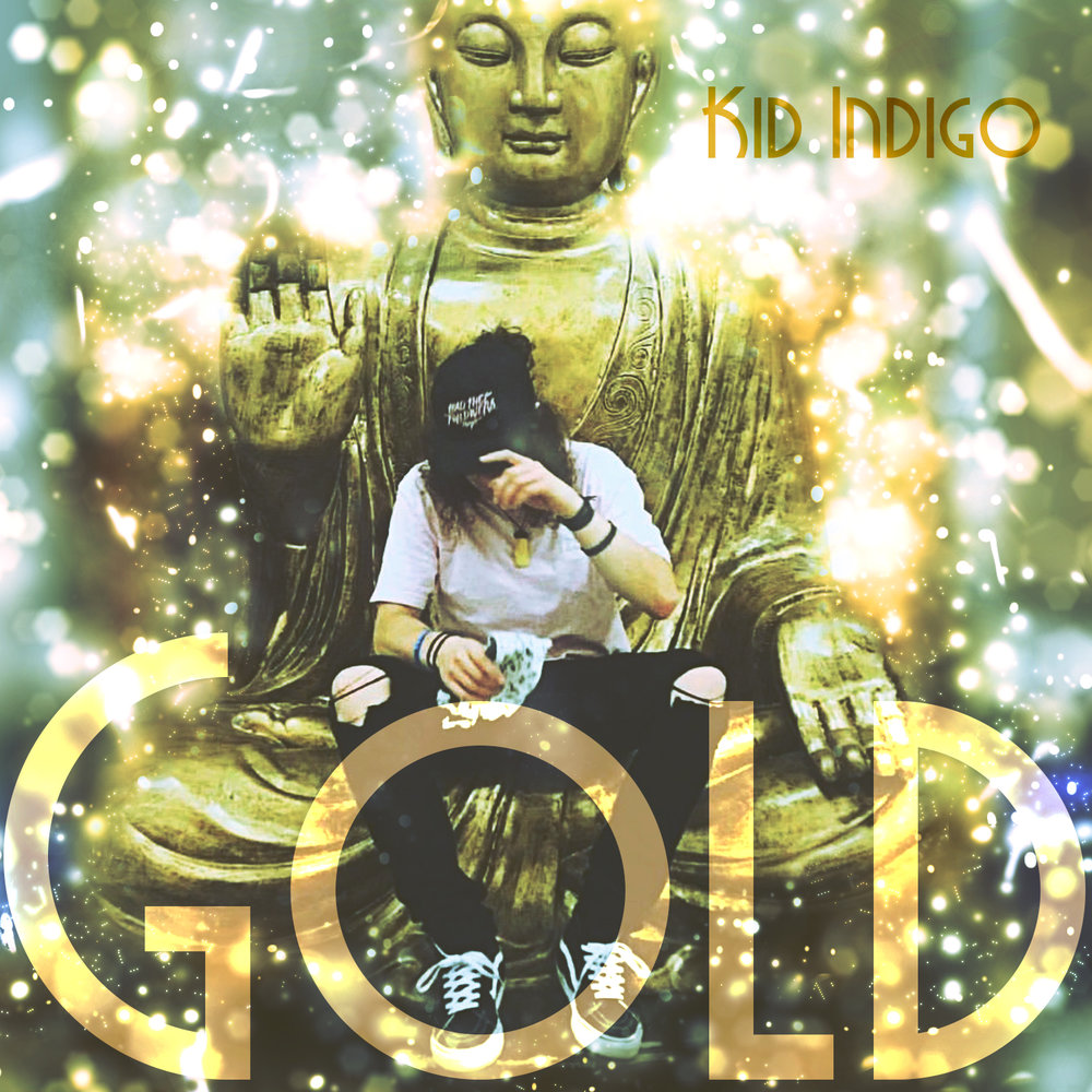 Album Art Design Kid Indigo Gold