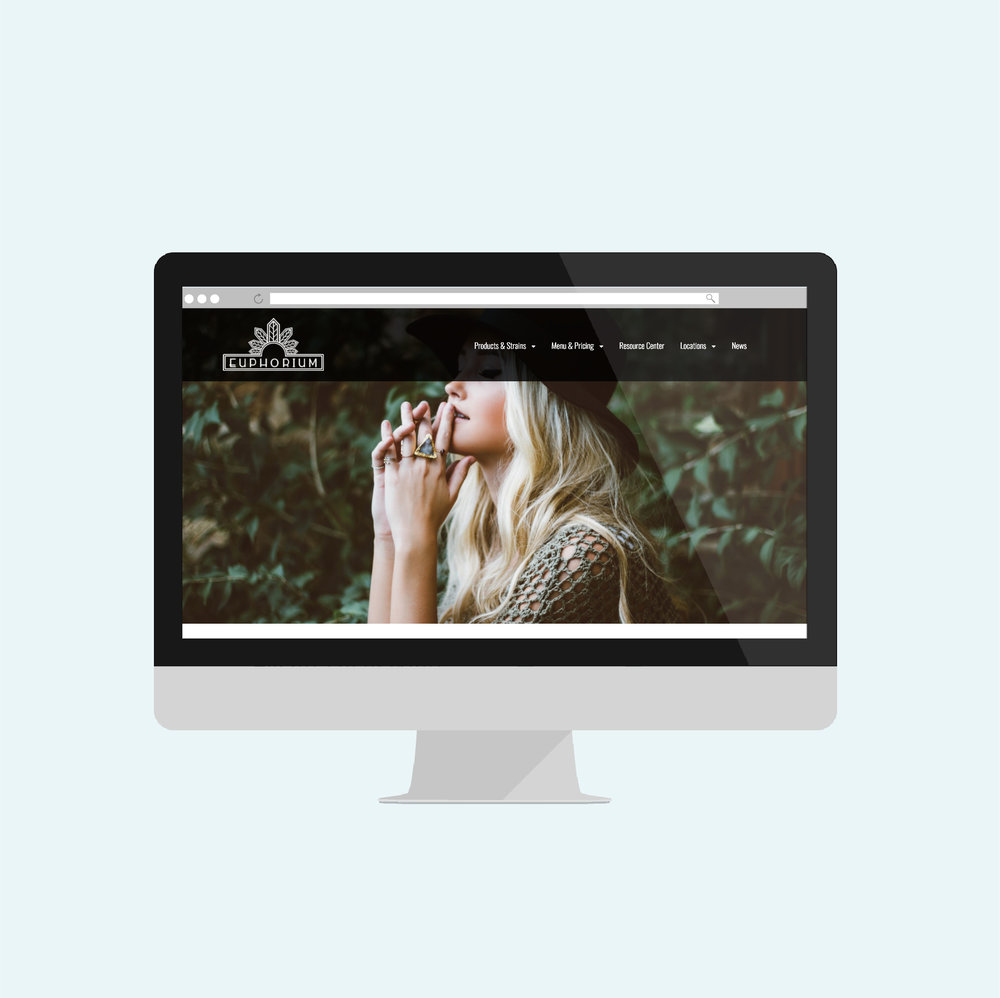 cannabis branding and content build out