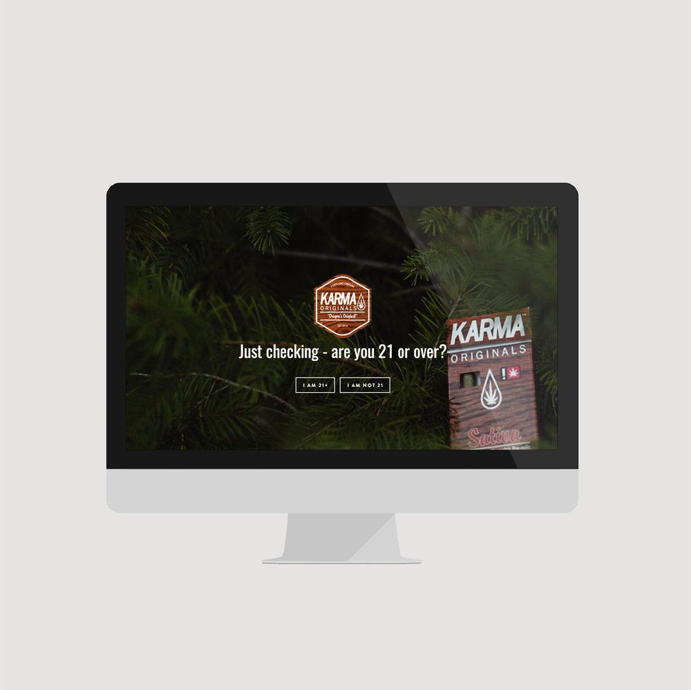 cannabis brand development + website design