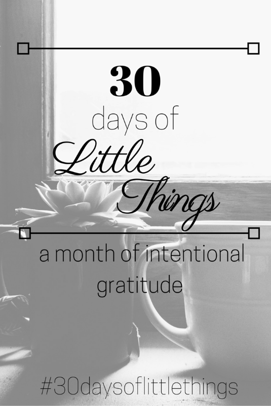 30-days-of-little-things