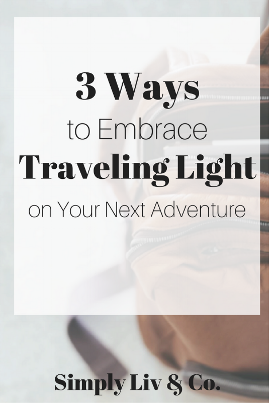Traveling doesn't have to be the stress-filled rush that it's stereotypically made out to be. Using these three tips, you can simplify your travel and make your next adventure a stress-free one.