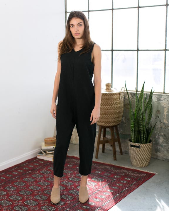 Lujo Linen Jumpsuit